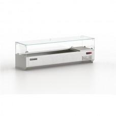 Витрина холодильная настольная Modern-Expo ONS VXCN 14* (после выставки, неоригинальная упаковка)