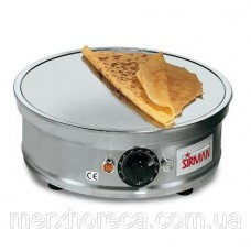 Блинница SIRMAN Crepes 1B con incavo