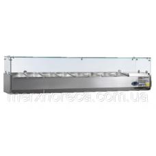 Витрина холодильная настольная Tefcold VK38-200* (дефекты на корпусе)