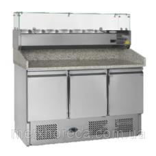 Стол холодильный для пиццы TEFCOLD-PT1365