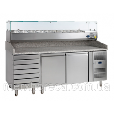 Стол холодильный для пиццы TEFCOLD-PT1310-I