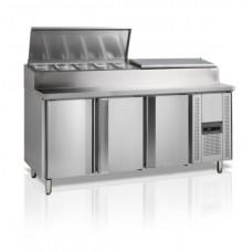 Холодильный стол для приготовления сэндвичей TEFCOLD SS7300-P
