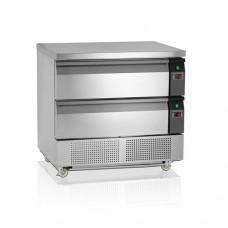 Холодильно/морозильный стол TEFCOLD UD2-2-P