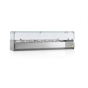Витрина холодильная настольная Tefcold VK33-150-I