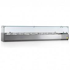Витрина холодильная настольная Tefcold VK38-200-I