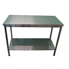 Стол производственный с  полкой без борта Tehma 28007932* (возврат)